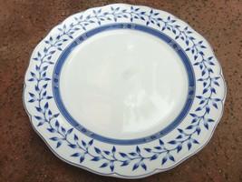 Wedgwood Oslo The Scandic Blue, Blue Laurel, Dinner Plate, Scalloped - $39.59