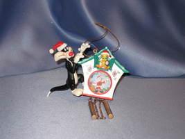 Looney Tunes Sylvester & Tweety Ornament. - $19.00