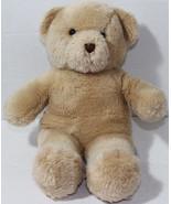 Build a Bear Workshop BROWN TAN THREAD NOSE Stuffed Plush Animal SOFT TO... - $12.86