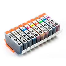 Compatible Ink Cartridge PGI-9 PGI9 With Chip 10Pcs - $37.29