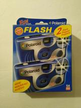 Polaroid Fun Shooter Flash Disposable Film Cameras 2 Pack 400 ISO EXPIRE... - $9.99