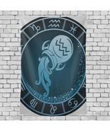 Home Wall Art Decor Aquarius Zodiac Beautiful Horoscope Pattern Decorati... - €24,03 EUR