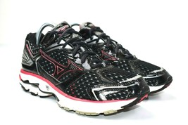 Mizuno Wave Inspire 7 Women's Black/Pink Running Shoes Athletic Sneakers Size 9 - $34.64