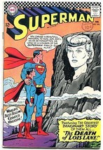 SUPERMAN #194 1967-DC Silver Age- Death of Lois Lane FN - $44.14