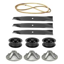 Deck Rebuild Kit Spindles Blades Pulleys Belt Toro TimeCutter Z5000 Z5030 Z5020 - $190.09