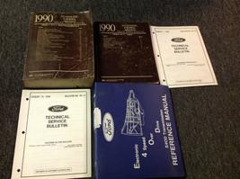 1990 Ford  F-150 250 350 Econoline Bronco Trucks Service Shop Manual Set... - $267.25