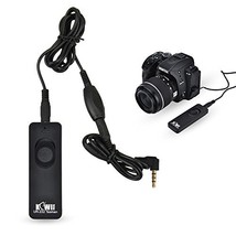 Kiwifotos Wired Remote Control Shutter Release Cord for Sony A6000 A5100... - $12.92