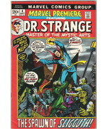 Marvel Premiere Comic Book #4, Dr. Strange 1972 VERY FINE - $22.18