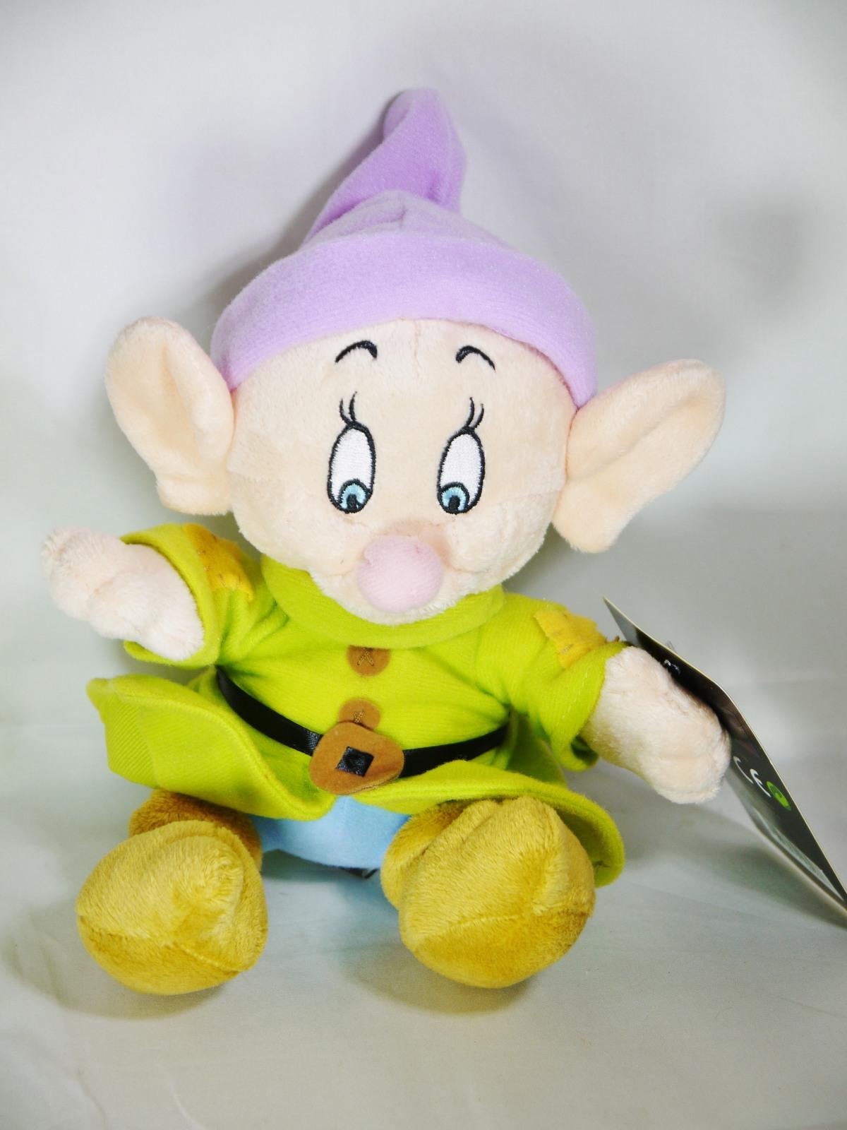 Disney snow white   7 dwarfs dopey plush toy 1
