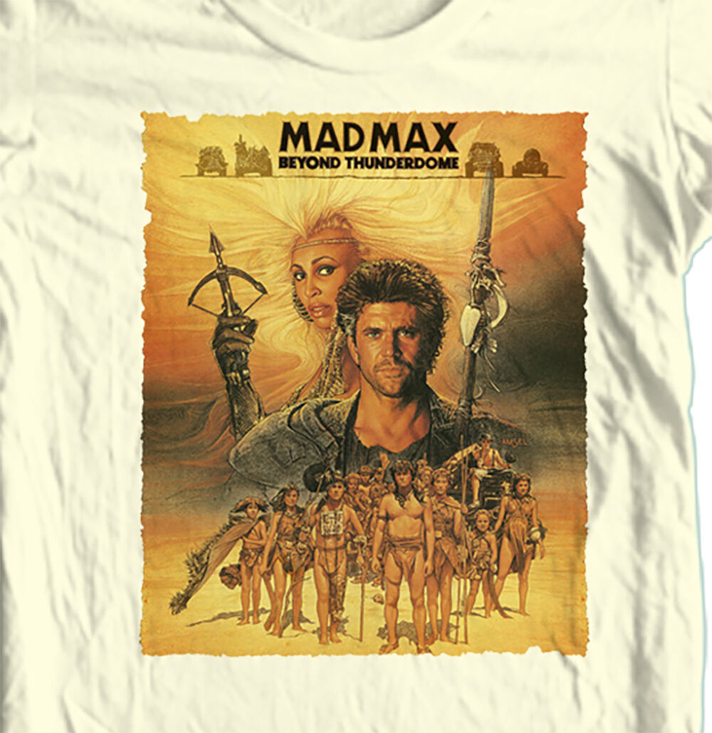 Mad Max Beyond Thunderdome T shirt classic 1980's movie cotton tee S - 5XL