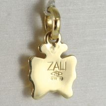 Yellow Gold Pendant 750 18k, Butterfly Domed, Pendant, Length 1.8 CM image 3