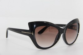 NEW TOM FORD TF 284 01F BARDOT BLACK GRADIENT SUNGLASSES AUTHENTIC 59-17... - $186.07