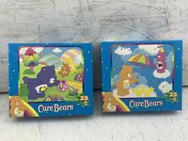 2 Care Bears Kids 25 piece Jigsaw Puzzles from 2007 Flower Shower & Daisy Days - $32.66