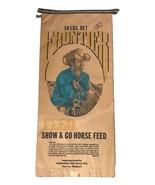 Vtg Farm Frontier Horse Feed Bag Indoor Advertising Sign Sack Dexter MO - $88.19