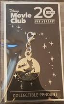 Bambi Disney Movie Club Collectible Pendant 20 Year Anniversary NEW - $5.75