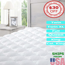 Mattress Pad PillowTop Cover Protector Hypoallergenic Topper Bed Best Fi... - $117.99+