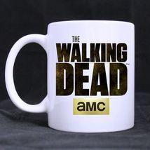 The Walking Dead Movie Logo Custom Personalized Coffee Tea White Mug - $13.99