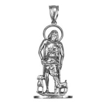 Sterling Silver St. Lazarus of Bethany Statuette Pendant - $39.99