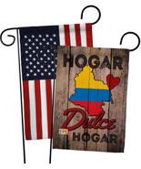 Country Colombia Hogar Dulce Hogar - Impressions Decorative USA - Appliq... - $30.97