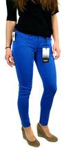 Kensie Jeans Women's Premium Skinny Slim Fit Ankle Biter Pants Blue Stone image 3