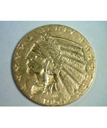 1909 FIVE DOLLAR INDIAN HEAD GOLD CHOICE ABOUT UNCIRCULATED++ CH AU++ OR... - $665.00