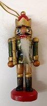 Nutcracker Wooden Ornament (P) - $7.50