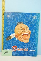 1961 Milwaukee Braves Baseball Yearbook Chief Noc-A-Homa Cover #A - $34.65