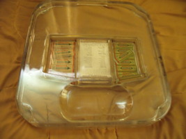 Wrigley's Chewing Gum Country Store Display and Change Maker Glass Tray - $340.00