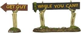 Department 56 Village Halloween Boneyard Spooky Signs Accessory, 2.09 inch - $18.95