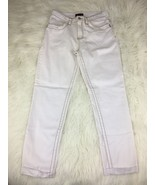 Nina Rossi Jeans Women's White Pants Size 12 - $18.79
