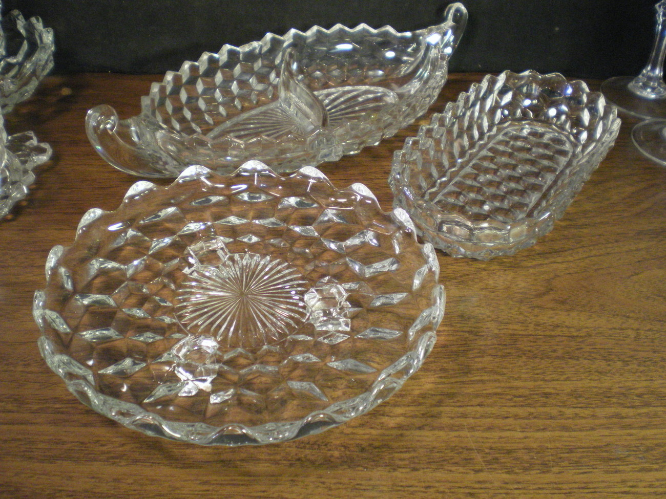 Primary image for FOSTORIA AMERICAN GROUP OF THREE SERVING PIECES