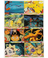 Set of 12 Topps Pokemon the Movie 2000  & Mewtwo Strikes Back Cards - $7.25