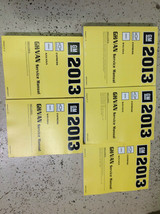 2013 Chevrolet Chevy EXPRESS & GMC SAVANA G VAN Service Shop Repair Manu... - $336.55