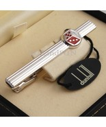 DUNHILL TIE CLIP DICE LINE - NEVER USED  - $130.00