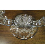 "FOSTORIA ""MEADOW ROSE"" DOUBLE CANDLE HOLDER~~HTF - $18.99"