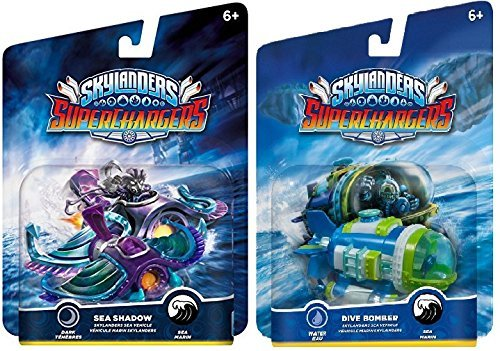 Primary image for Skylanders SuperChargers 2 Pack Sea Vehicle Bundle: Sea Shadow & Dive Bomber