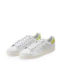Adidas TurnSchuhe StanSmith, Unisex/Damen Weiß/Rot Leder low-Top Sneakers - $81.88+