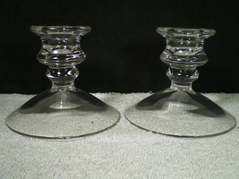 """High Quality Heavy Pair Of 4"""" Candles~~~Really Nice Ones~~~Unknown - $4.99"""