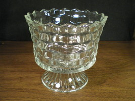 LARGE AMERICAN WHITEHALL FOOTED COMPOTE - $4.99