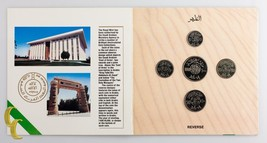 1988 (1408 AH) Kingdom of Saudi Arabia Uncirculated 5 Coin Set - $39.59