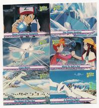 Set of 10 Topps Pokemon the Movie 2000 & Decal Cards  - $10.00