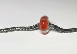 Authentic Trollbeads Unique OOAK Bead  red ant critter charm! - $41.04