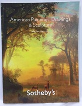 Sothebys NY American PAINTINGS Drawings Sculpture May 19 2011 Auction Ca... - $24.18