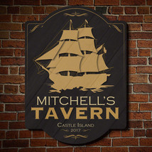 Shipyard Tavern Wooden Custom Sign - $49.95 - $79.95