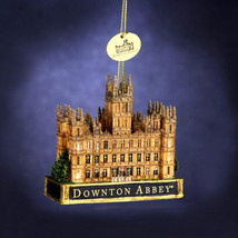 Downtown Abbey Castle Christmas Ornament WOW! - $14.24