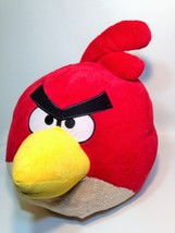"Angry Birds Red Bird Plush Giant Soft Big HUGE Cuddly JUMBO 15"" Commonwe... - $75.00"