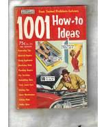 Vintage Home, Lawn & Car Problem-Solvers -- 1001 HOW-TO-IDEAS - 1961 Edi... - $7.50