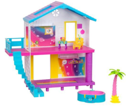 Shopkins Happy Places Rainbow Beach House Playset - $22.95