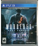 Murdered: Soul Suspect (Sony PlayStation 3, 2014) PS3 - $5.93