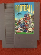 NES Play Action Football 4 Player Video Game For Nintendo 1985. Tested - $5.99